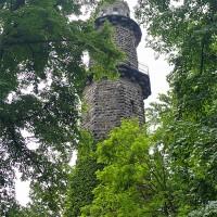 Aussichtsturm auf dem Pfaffenstein - Foto: die-infoseiten.de