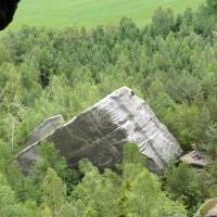 Kletterfelsen am Pfaffenstein - Foto: die-infoseiten.de