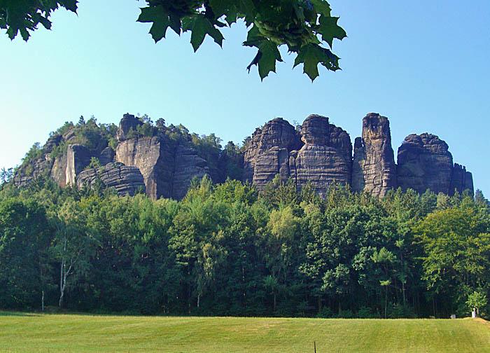 Pfaffensteine in der Sächsischen Schweiz